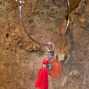 Jewelry - Tangerine Quartz Bracelet